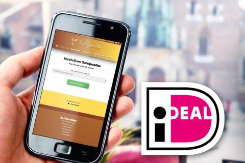 Inschrijven en met iDeal betalen!