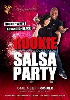 Rookie Salsa & Bachataparty with Roses